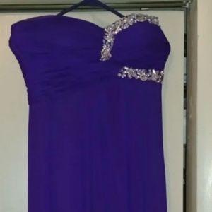 Blondie Nites Formal floor length gown